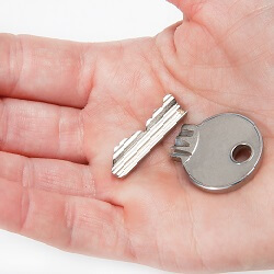 Broken key replacement