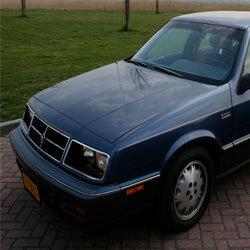 Replace Chrysler LeBaron GTS car keys