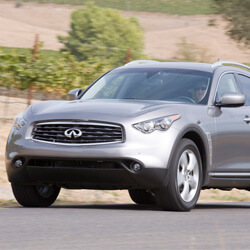 Car KeyReplacement or Duplication for Infiniti FX Models cars