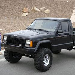 Jeep Comanche Car Keys Replaced