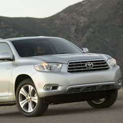 Car KeyReplacement or Duplication for Toyota Highlander cars