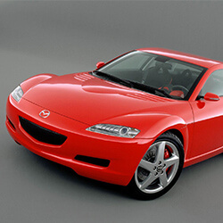 Car KeyReplacement or Duplication for Mazda RX 8 vehicles