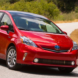 Toyota Prius V Keys Replaced